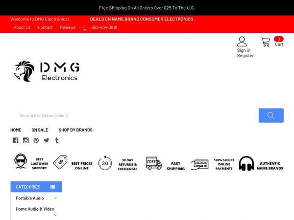 dmgelectronics.com