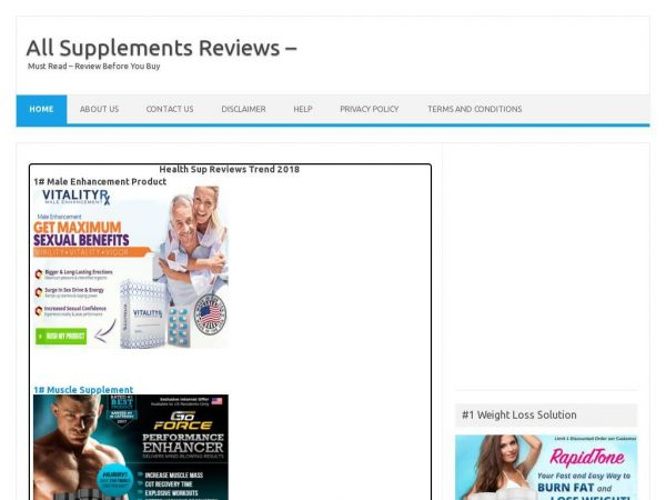 healthsupreviews.com