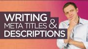 Write Meta Title & Meta Description for SEO