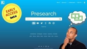 Make Money while Searching with Presearch