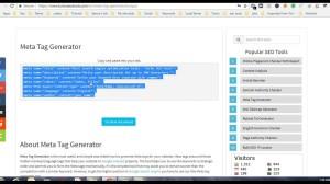 Create SEO Friendly Title & Description Tag
