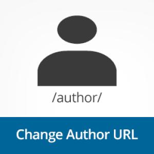 Change WordPress author permalink structure