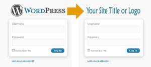 Изменить URL логотипа WordPress и название