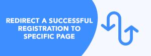 Перенаправить пользователя на определенную страницу после регистрации