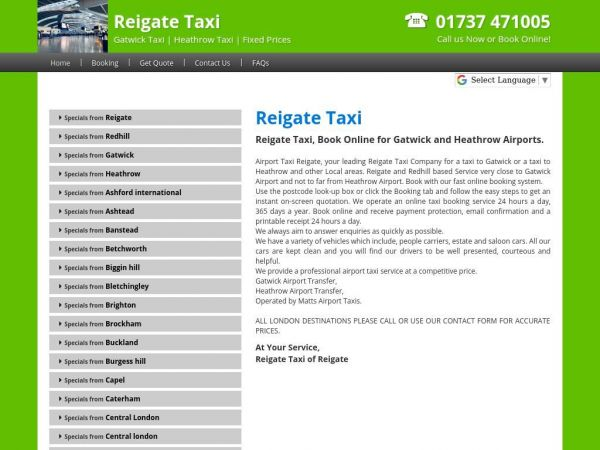 airporttaxisreigate.co.uk