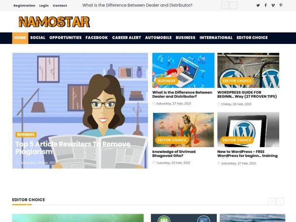 namostar.com