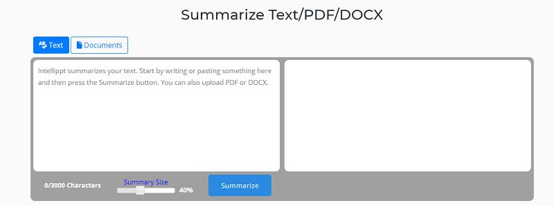 pdf summarizing tool
