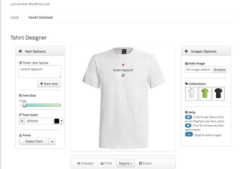 T-Shirt Design Software