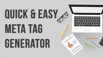 Google meta tag generator