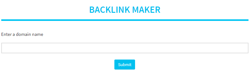 organic backlink generator
