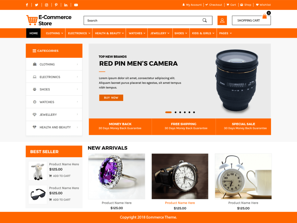 Advanced Ecommerce Store